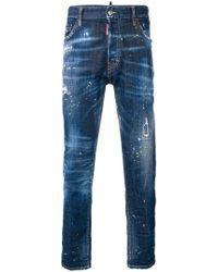 DSquared² - Cigarette Jeans - Lyst