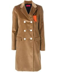 The Gigi - Double Breasted Coat - Lyst