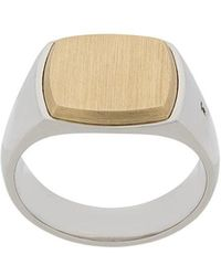 Tom Wood - Two-tone Amulet Ring - Lyst