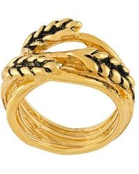 Aurelie Bidermann - Wheat Ring - Lyst