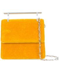 M2malletier Sac porté épaule à rabat - Orange