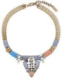Rada' | Rhinestone Embellished Necklace | Lyst