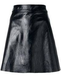 Theory - A-line Mini Skirt - Lyst