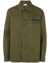 Saint Laurent - Military Shirt - Lyst