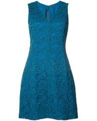 Adam Lippes   Lace Mini Dress   Lyst