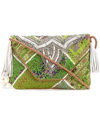 Antik Batik - Embellished Foldover Clutch - Lyst