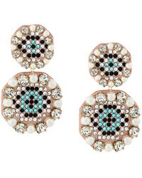 Shourouk - Eye Pendant Earrings - Lyst