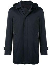 Dell'Oglio - Hooded Coat - Lyst