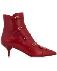 L'Autre Chose - Ankle Boot With Strap Detail - Lyst