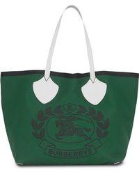 cabas coloris Grand Lyst Burberry sac Noir réversible en 61w1z7xqE