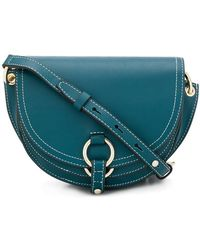 Tila March - Contrast Stitch Shoulder Bag - Lyst