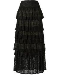 Cecilia Prado   Knit Maxi Skirt   Lyst