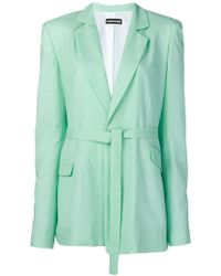 House of Holland - Waist-tied Fitted Blazer - Lyst