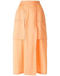 Nina Ricci - Oversized Cargo Pocket Skirt - Lyst