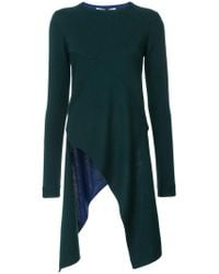 Rosetta Getty - Long Asymmetric Jumper - Lyst