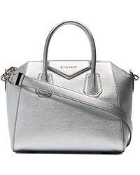 Givenchy - Metallic Small Antigona Tote Bag - Lyst
