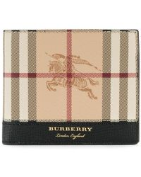 Burberry - Haymarket Check Billfold Wallet - Lyst