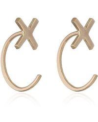 Melissa Joy Manning - Cross Stud Earrings - Lyst