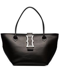 Dorateymur - Black Lament Leather Tote Bag - Lyst