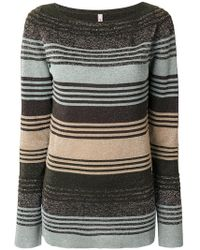 Antonio Marras - Striped Knitted Sweater - Lyst