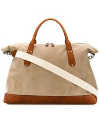 Eleventy - Colour Block Holdall - Lyst