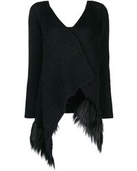 Simone Rocha Patchwork Knitted Cardigan