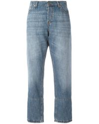 Marni - Cropped-Jeans - Lyst