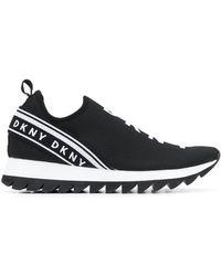DKNY - Baskets à logo - Lyst