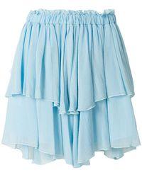 Pinko - Ruffled Tiered Skirt - Lyst