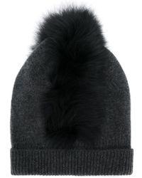 Charlotte Simone - Fox Fur Beanie - Lyst