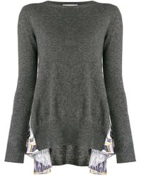 Dondup - Side Printed Panel Sweater - Lyst