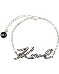 Karl Lagerfeld - Karl Signature Bracelet - Lyst