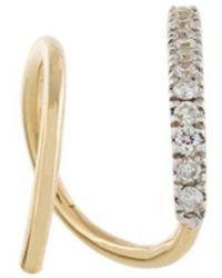 Maria Black - 'bela Blanc' Twirl Diamond Earring - Lyst