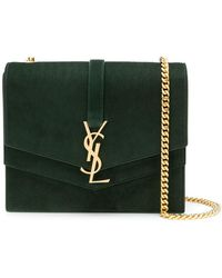 Saint Laurent - Monogram Collège Shoulder Bag - Lyst