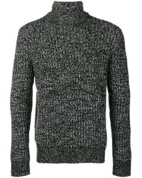 Theory - Patterned Ribbed Jumper - Lyst