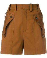 Chloé - Shorts mit Klappentaschen - Lyst