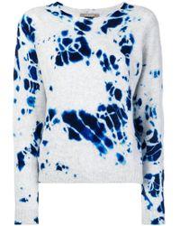 Suzusan - Tie-dye Fitted Sweater - Lyst