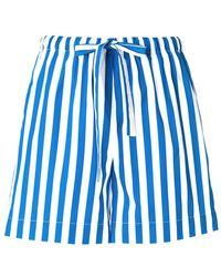 Aspesi - Striped Shorts - Lyst