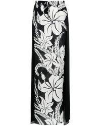 Amir Slama - Floral Print Skirt - Lyst