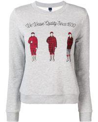 Woolrich - We Weave Quality Sweatshirt - Lyst