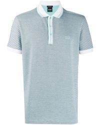 BOSS - Two Tone Polo Shirt - Lyst