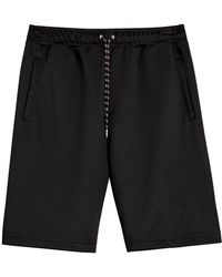 Burberry - Cotton Blend Drawcord Shorts - Lyst