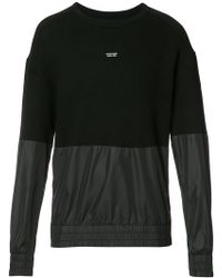 Mostly Heard Rarely Seen - Paneled Sweatshirt - Lyst