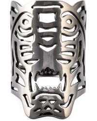 KENZO | Big 'tiger' Ring | Lyst