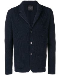Roberto Collina - Knitted Buttoned Cardigan - Lyst