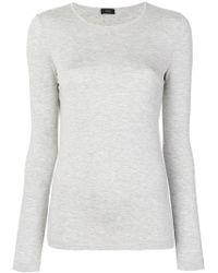 JOSEPH - Round Neck Sweatshirt - Lyst