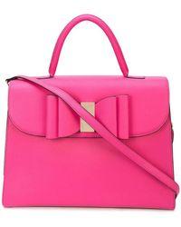 Christian Siriano - Bow Detail Tote Bag - Lyst