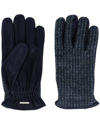 Lardini - Fitted Knitted Gloves - Lyst