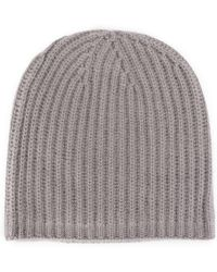 Warm-me - Cable Knit Beanie - Lyst
