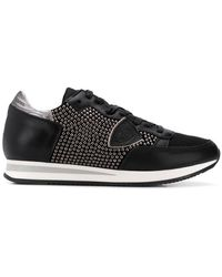 Philippe Model - Studded Tropez Trainers - Lyst